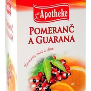 premier selection čaj pomaranč a guarana