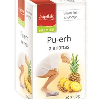 premier selection čaj pu-erh a ananás