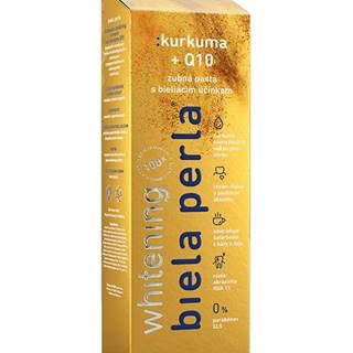 - kurkuma + Q10, zubná pasta