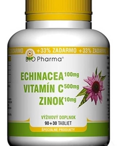 Echinacea, Vitamín C, Zinok