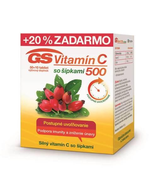 Vitamín C 500 so šípkami