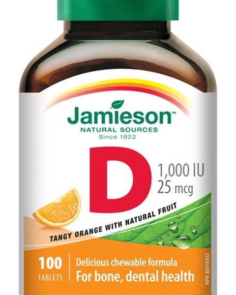vitamín d3 1000 iu pomaranč
