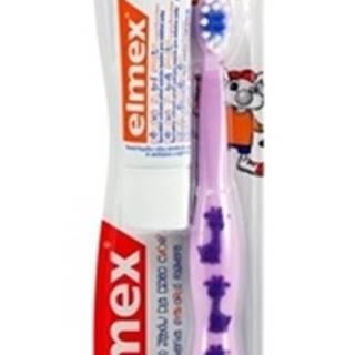 detská zubná kefka výučbová