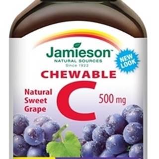 JAMIESON VITAMÍN C 500 mg hrozno