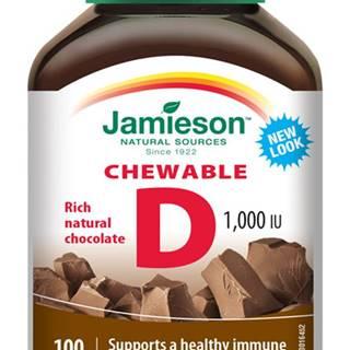 vitamín d3 1000 iu čokoláda