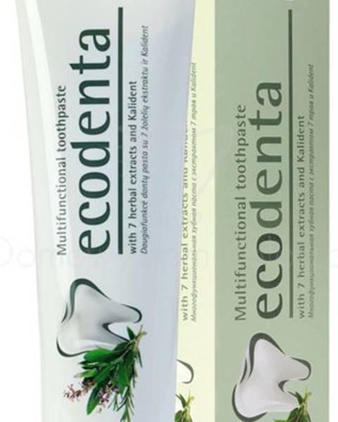 Ekologická Multifunkčná zubná pasta s extraktom zo 7 rastlín - 97% EKO