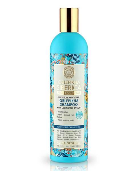 Natura Siberica Rakytníkový šampón pre poškodené vlasy