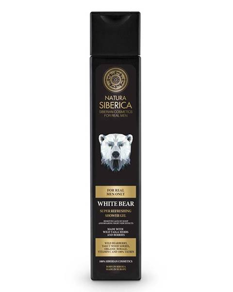 """Natura Siberica Super osviežujúci sprchový gél """"Ľadový medveď"""""""