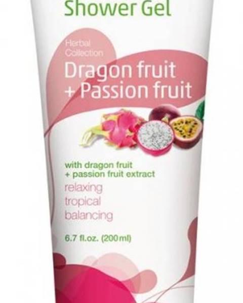 HERBACIN Sprchový gél bylinný Dragonfruit