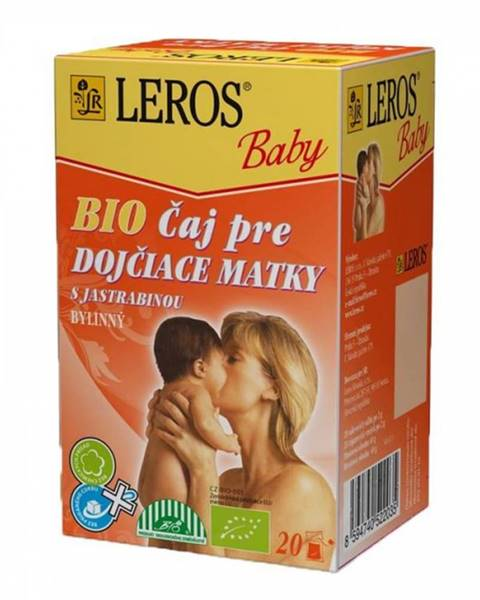 Leros Baby bio Čaj pre dojČiace matky