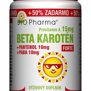 BIO Pharma Beta karotén 15 mg FORTE