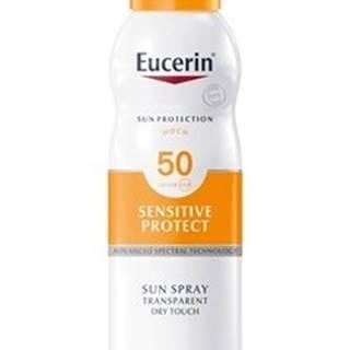 Eucerin SUN transparentný sprej na opaľovanie SPF 50+
