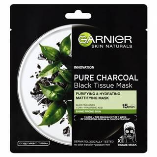 Garnier Skin tissue maska black tea