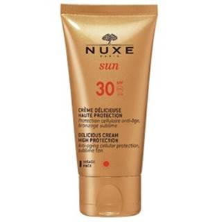 NUXE SUN SPF30 delikátny krém na opaľovanie na tvár
