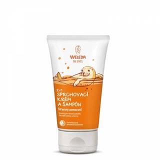 WELEDA 2v1 Sprchový krém a šampón Šťastný pomarač 1x150 ml