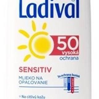 Ladival SENSITIV SPF 50 mlieko 200 ml mlieko na opaľovanie