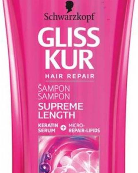 GLISS KUR šampón Supreme Length