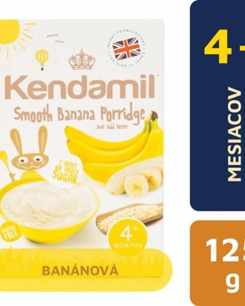 Kendamil Jemná banánová kaša