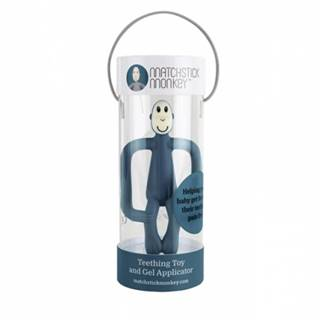 Hryzátko a zubná kefka - MATCHSTICK MONKEY AIRFORCE BLUE