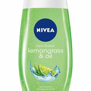 NIVEA Lemongrass & Oil 250 ml - sprchový gél