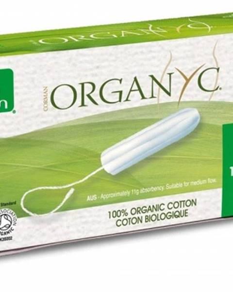 Organyc Tampóny zo 100% organickej bavlny, SUPER