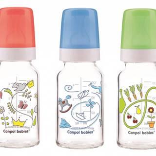 Canpol Babies fľaša dekor 120ml