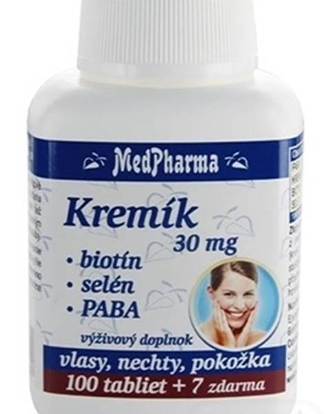 Medpharma KremÍk 30mg+biotín+selén+paba