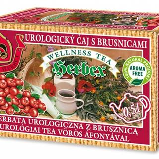 Herbex urologický čaj s brusnicami