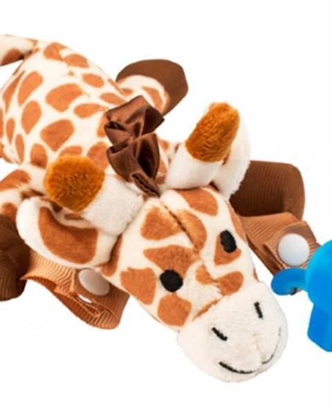 Držiak na cumeľ a hryzadlo 0M+ žirafa