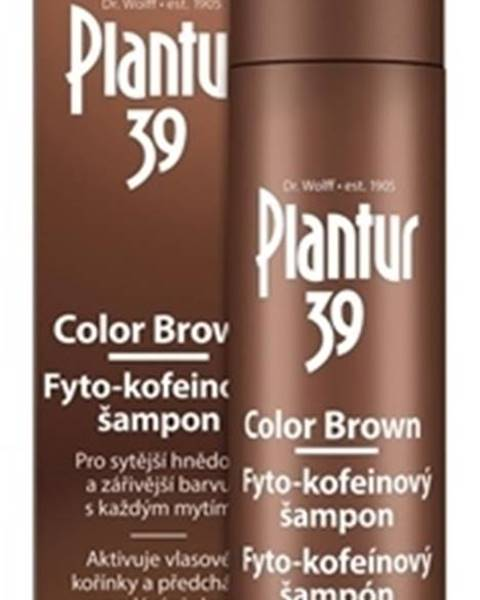 Plantur 39 Color Brown Fyto-kofeínový šampón