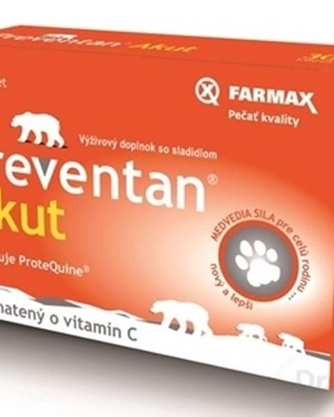 FARMAX Preventan Akut obohatený o vitamín C