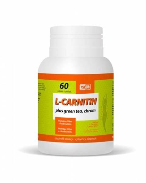 VIRDE L-CARNITIN Plus Green Tea, Chróm