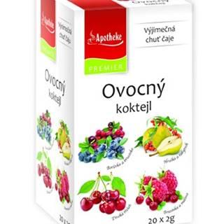 Apotheke premier selection čaj ovocný koktejl