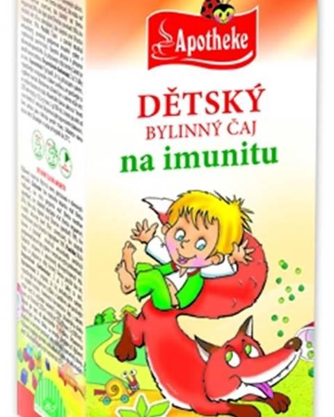 Apotheke Bio detskÝ bylinnÝ Čaj na imunitu