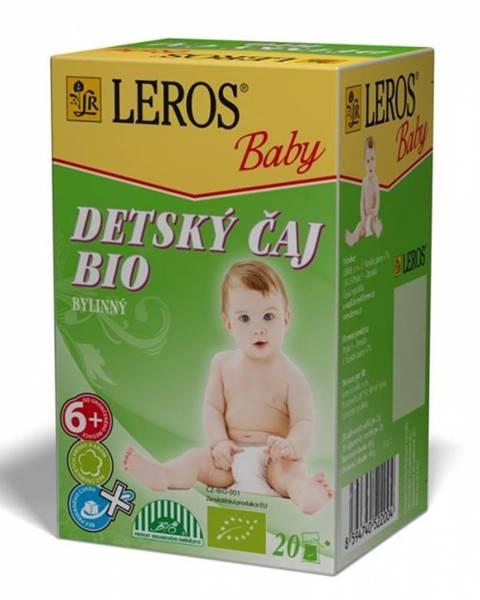Leros baby detský čaj bio bylinný