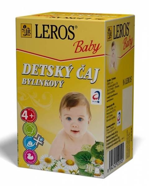 Leros baby detský čaj bylinkový