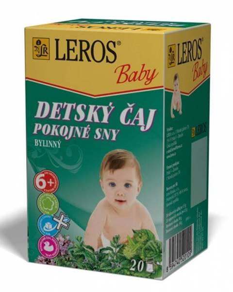 Leros baby detský čaj pokojné sny