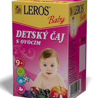 Leros baby detský čaj s ovocím