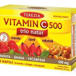 TEREZIA VITAMÍN C 500 mg trio natur