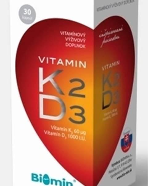 Biomin Vitamin k2 + d3 1000 i.u.