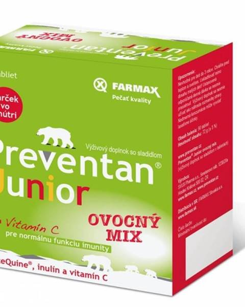 Farmax Preventan junior + vitamín c