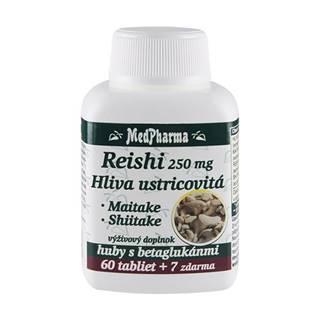 MedPharma REISHI 250 mg, Hliva ustricovitá