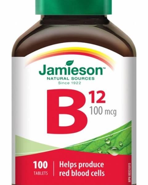 Jamieson VitamÍn b12 metylkobalamÍn 100 µg