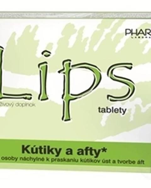 LIPS tablety kutiky a afty