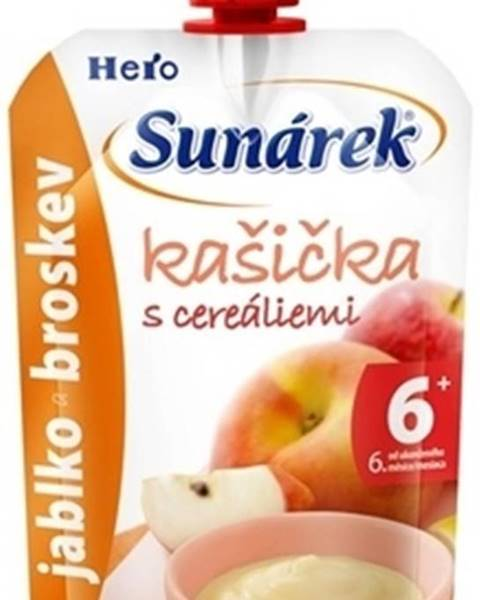 Sunar Ovocná kašička s cereáliami