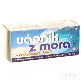 Naturvita VÁpnik z mora + vitamín d3