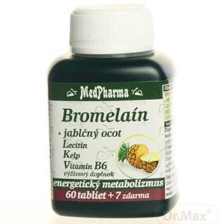 MedPharma BROMELAIN 300 mg + JABL.OCOT + LECITIN
