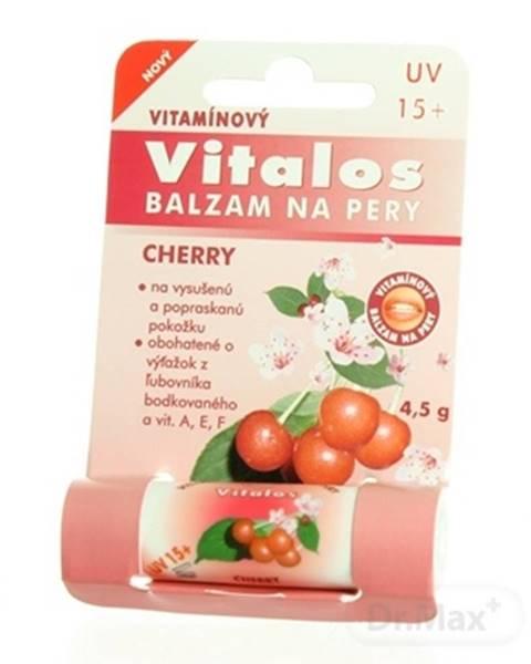 VITALOS Balzam na pery cherry SPF 15