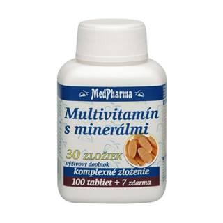 Medpharma MultivitamÍn s minerÁlmi 30 zloŽiek