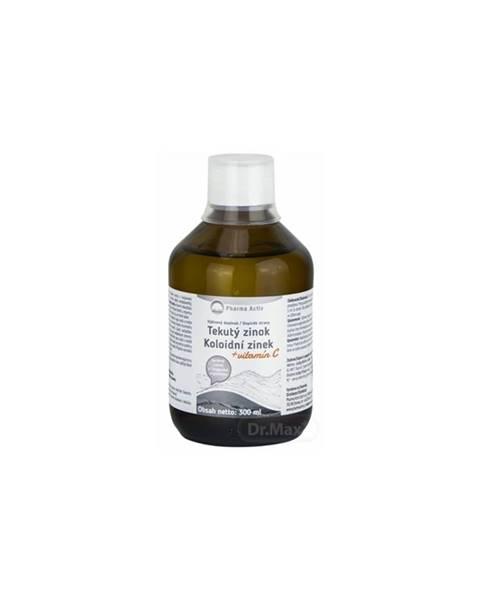 Pharma Activ Tekutý zinok Zn + Vitamín C